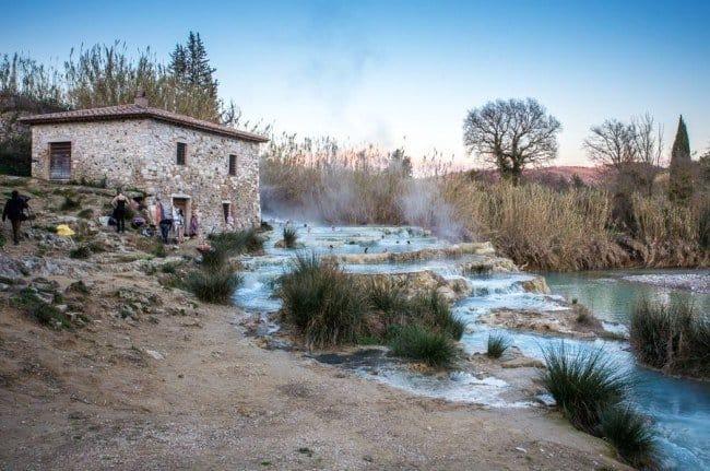 Foto Cascate del Mulino le migliori immagini delle Terme Saturnia Libere