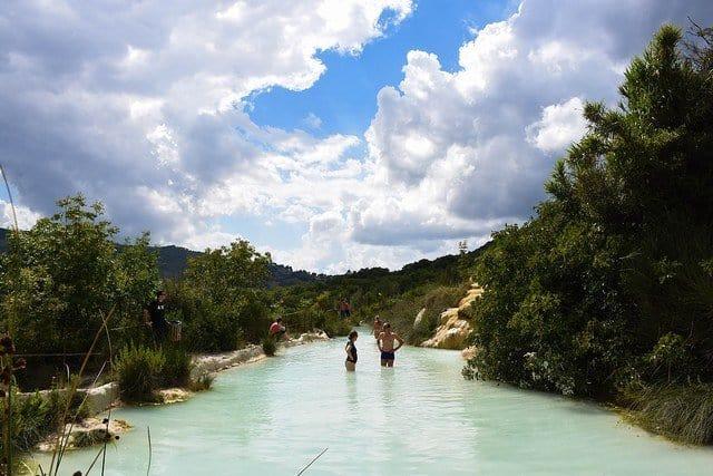 Terme Bagno Vignoni Piscine Termali Libere in Toscana