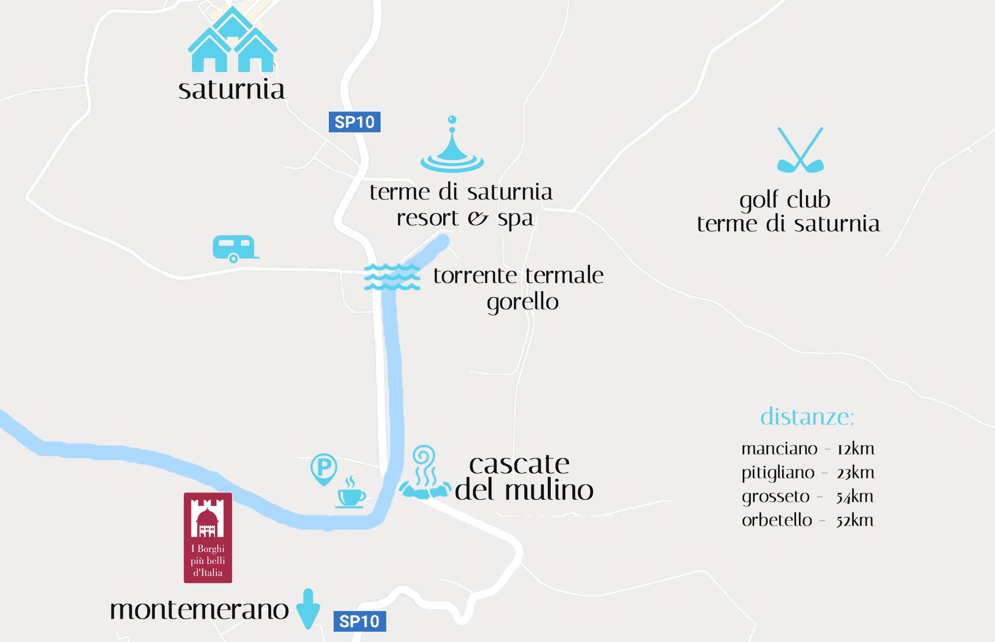 Terme Di Saturnia Libere In Toscana Cascate Del Mulino A Saturnia